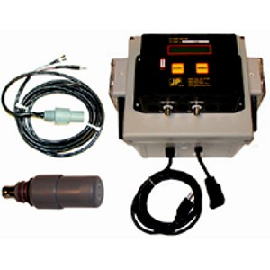 PH/ORP Controller Kit: Dual Pump, probe, and temp. comp. cable with Mounting Kit.