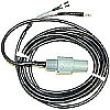 Cable with Temperature for pH Quick Probes (Standard 20' Length)